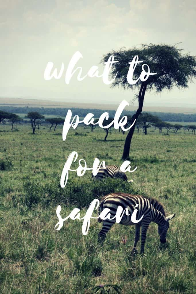 What to Pack for a Safari in Africa with Kids