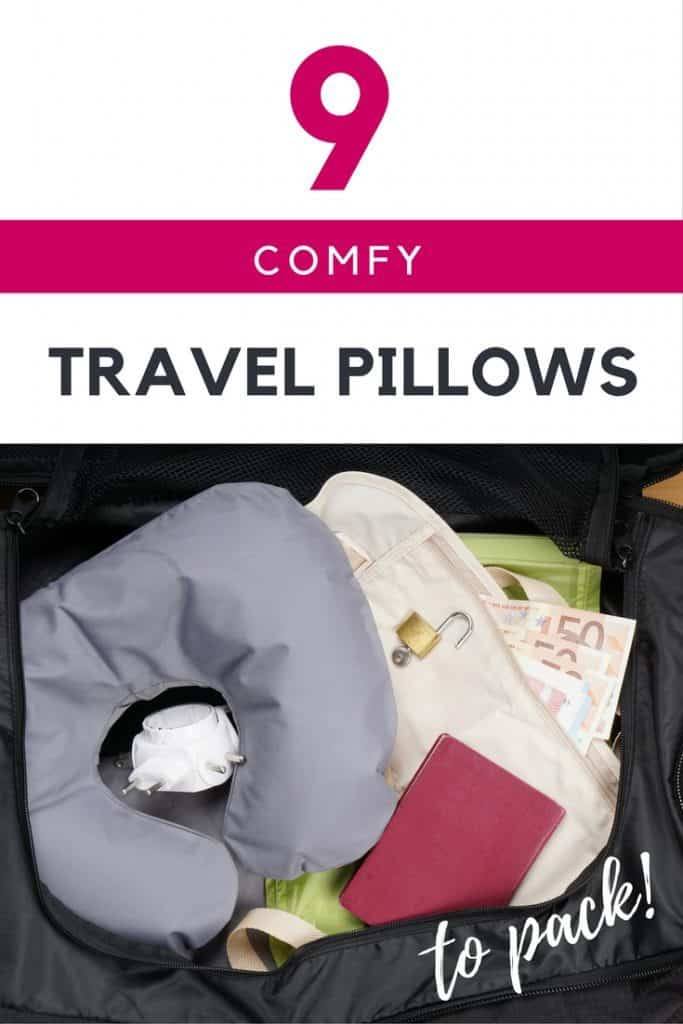 9 Great Travel Pillows to Pack for your next flight