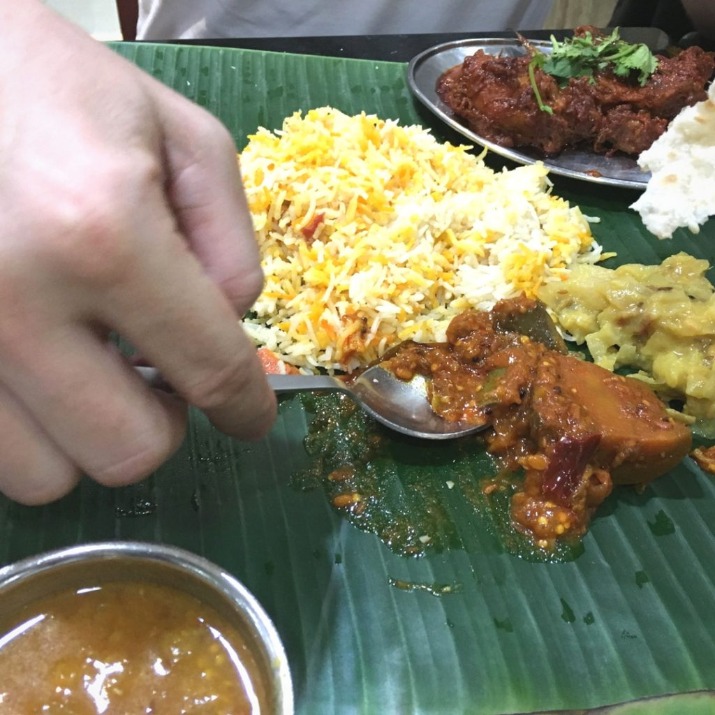 Banana Leaf Indian Food in Singapore