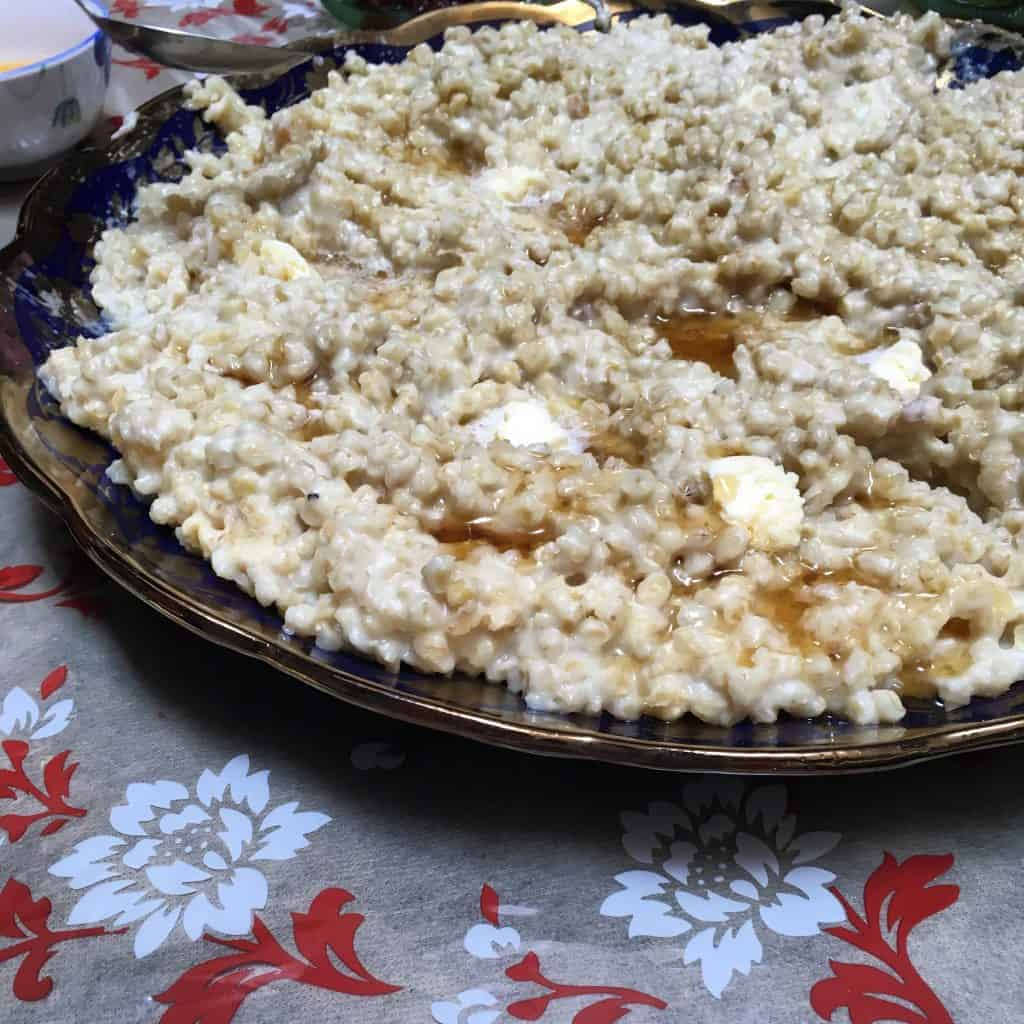 Breakfast for Eid Moroccan hrbil recipe