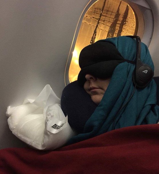 Sleeping on Planes