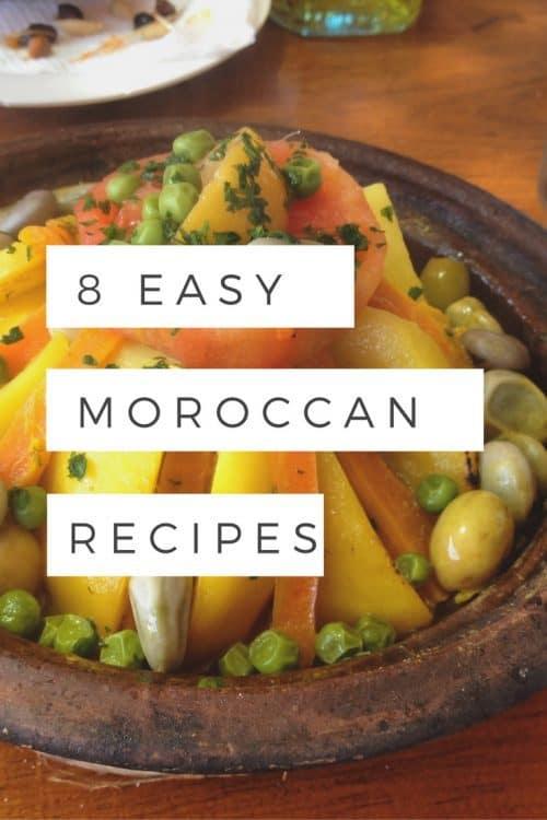 8 Easy Moroccan Recipes