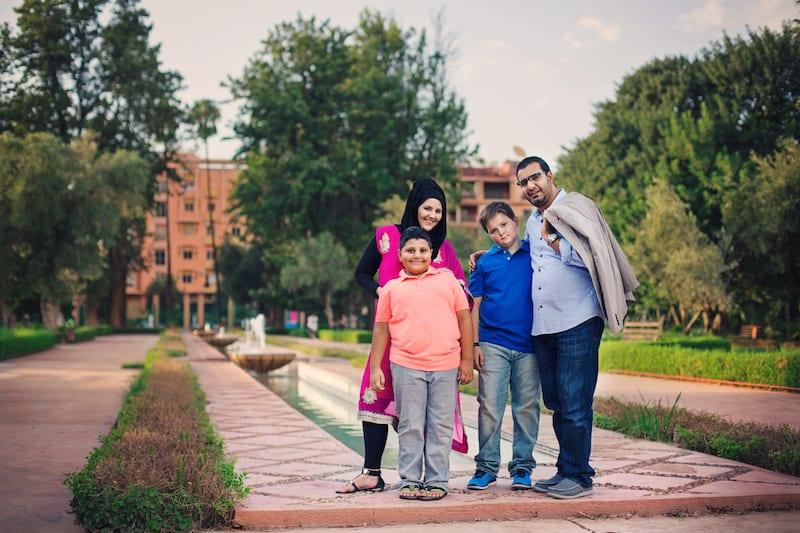 Family Portrait in Marrakech