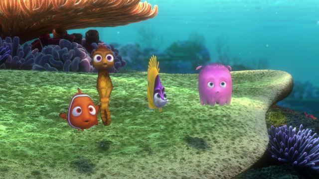 The Finding Nemo Dropoff Scene