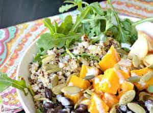 Butternut Squash Vegan Buddha Bowl
