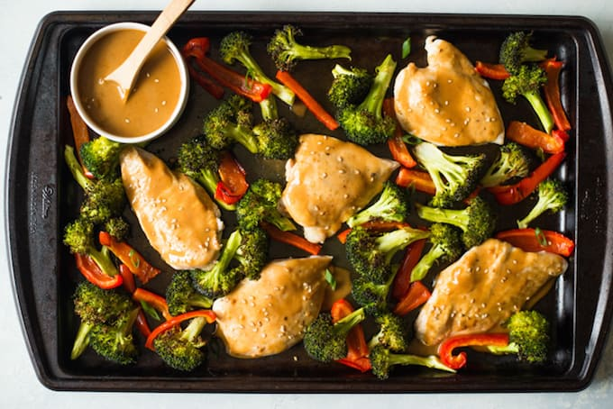 Chicken and Vegetable Sheet Pan Meal
