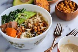 Curried Chickpea Power Bowl