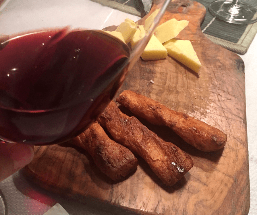 Pairing wine with food