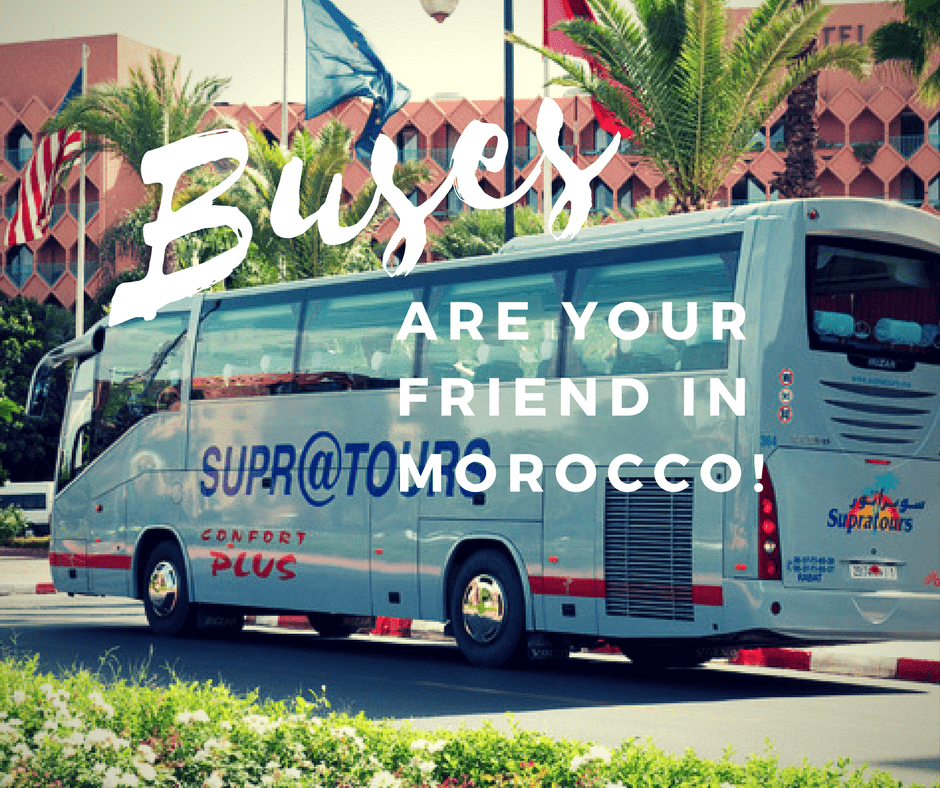 Bus Travel in Morocco