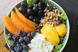 Tropical Fruit Power Bowl