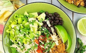Vegan Sofritas Bowl