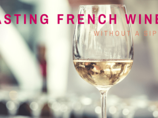 Can you taste wine without taking a sip?