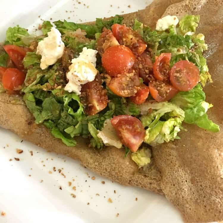 Gluten Free Crepes at Creperie Mogador