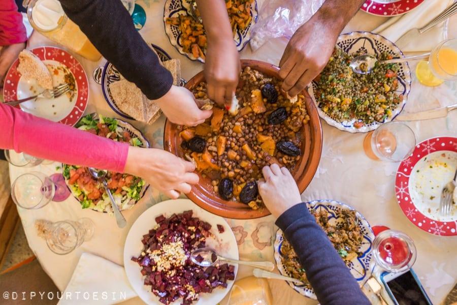 Khadija's Kuzna gluten free Essaouira