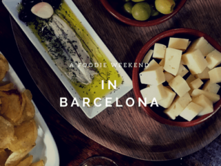 A foodie weekend traveling to Barcelona