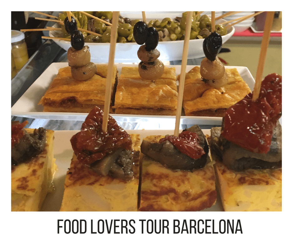 food lovers tour when traveling to barcelona