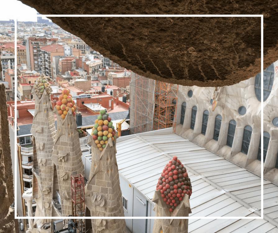 La Sagrada Familia Towers