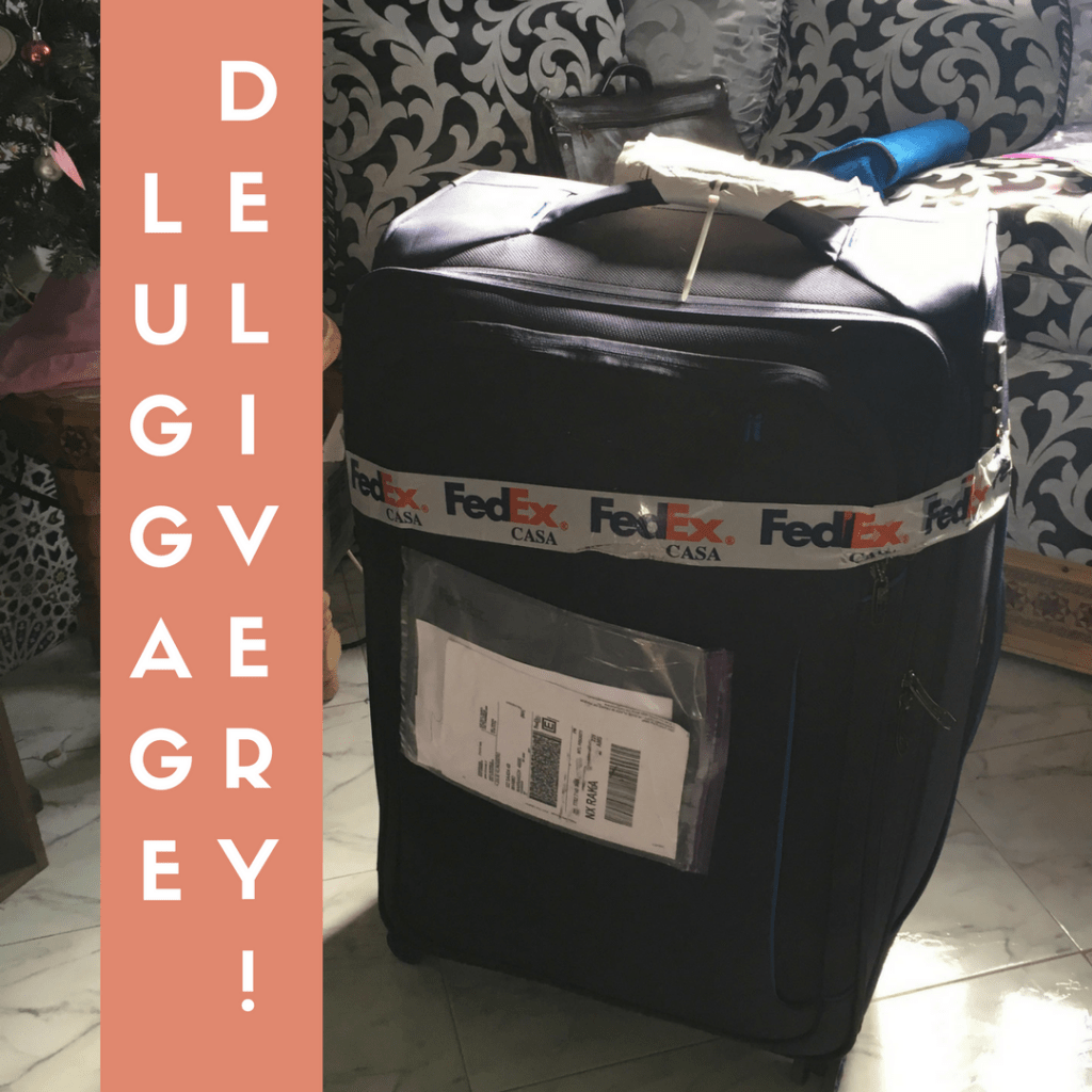 luggage free delivery