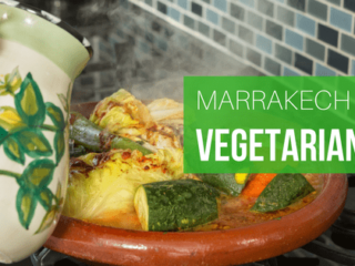 vegetarian dishes to eat in Marrakech