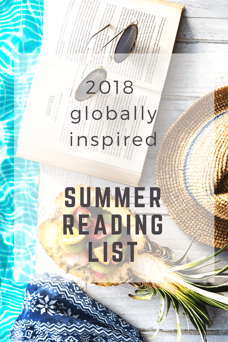 Do you love reading books set around the world? Than this post is for you! A Globally Inspired Summer Reading List for all your summer reading needs.