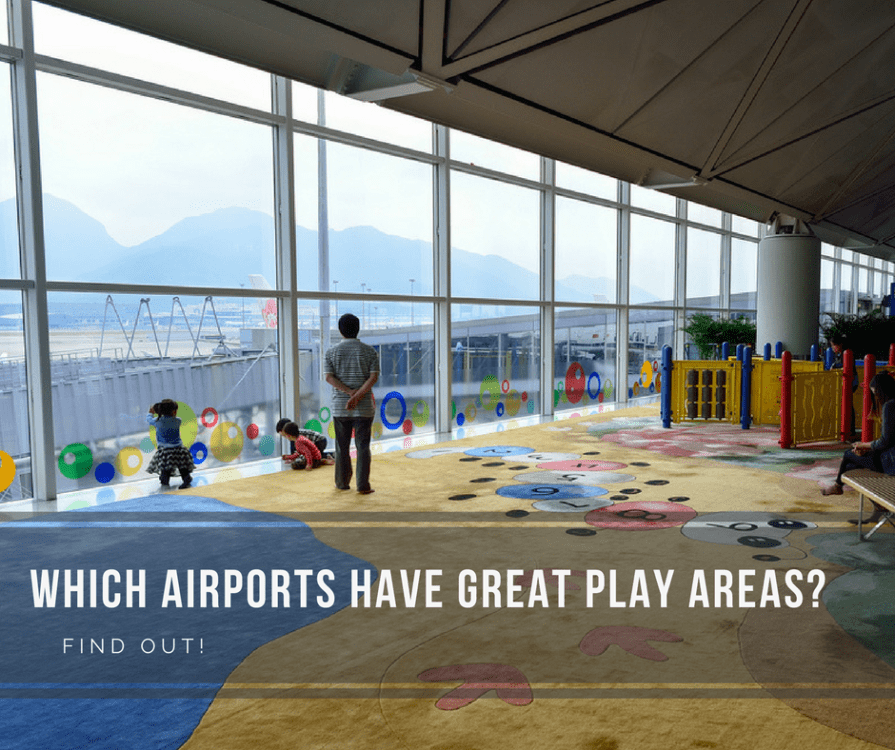 Airports around the world with playgrounds