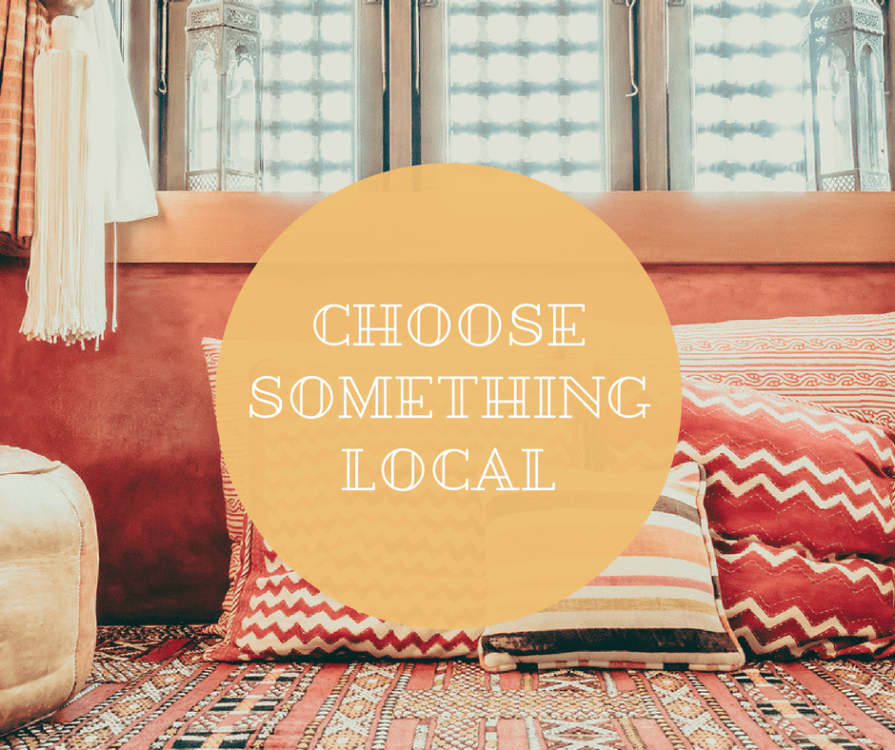 Decorating your Expat Home - Go Local