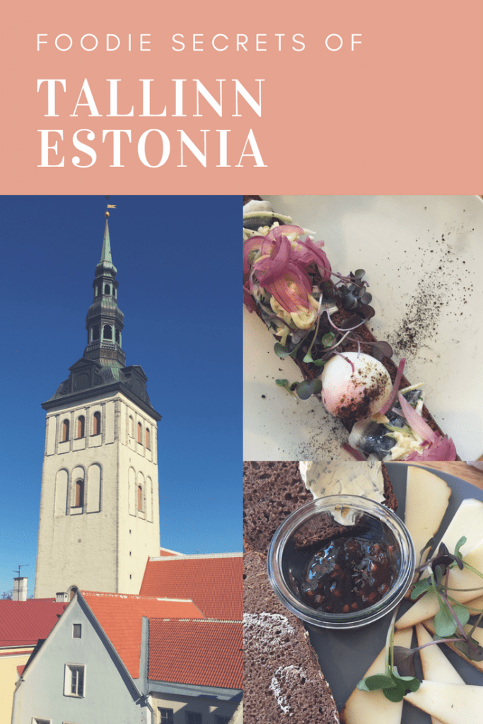 Foodie Secrets of Tallinn Estonia
