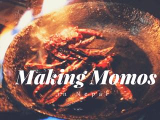 Making Momos in Nepal