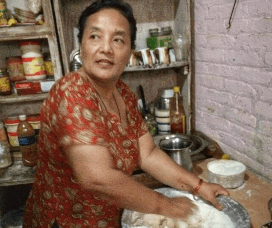 Making Momos in Nepal