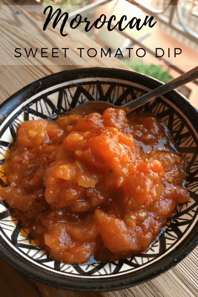 Moroccan Sweet Tomato Dip
