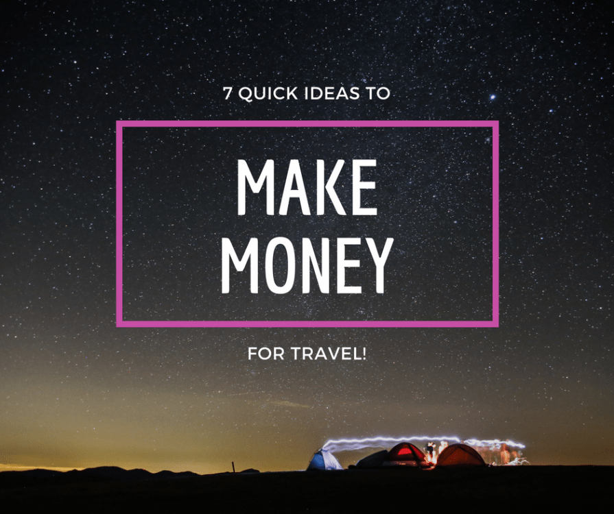 make more money to travel!