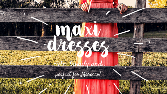 modest maxi dresses for morocco