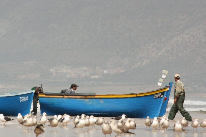 Fishing Boats on Moroccan Coast
