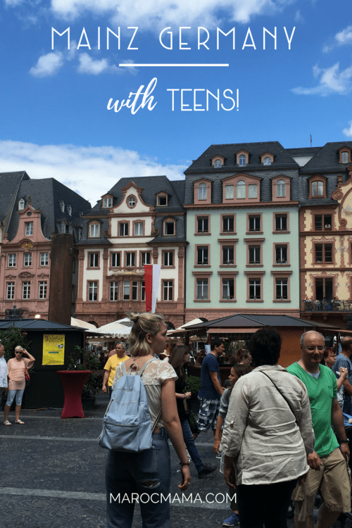 The Best Things to Do in Mainz Germany with Older Kids and Teens - even if wine isn't your thing!