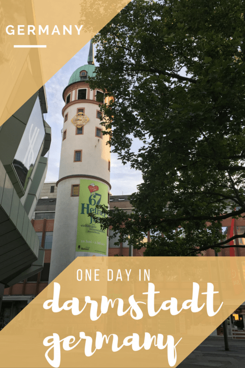 Find out what to do and where to eat if you decide to take a day trip to Darmstadt. This German town is only 30 minutes from Frankfurt!