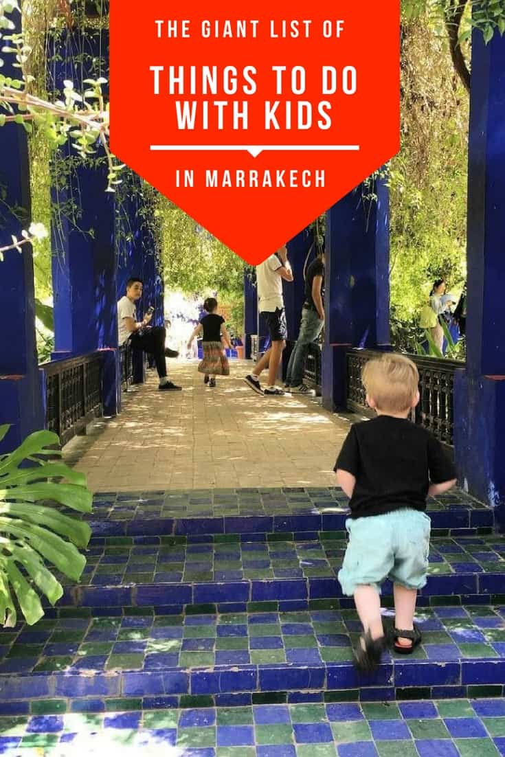 Visiting Marrakech with kids and wondering what to do? In this post you'll hear from a local all of the options - beyond the normal tourist sites!