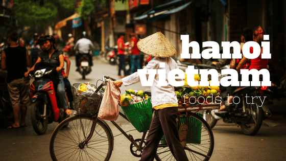 Top 5 Weird Foods to Try in Hanoi, Vietnam!