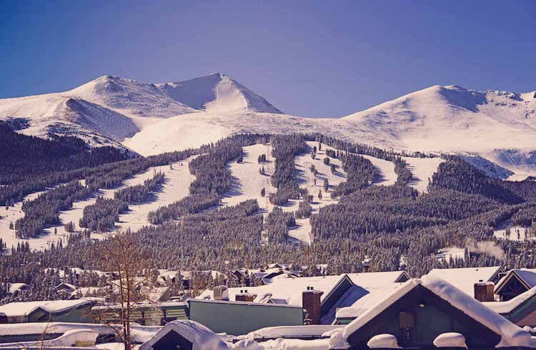 Breckenridge, Colorado for a white Christmas