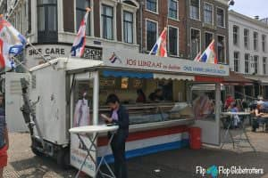 Stand selling Kibbeling and Haring