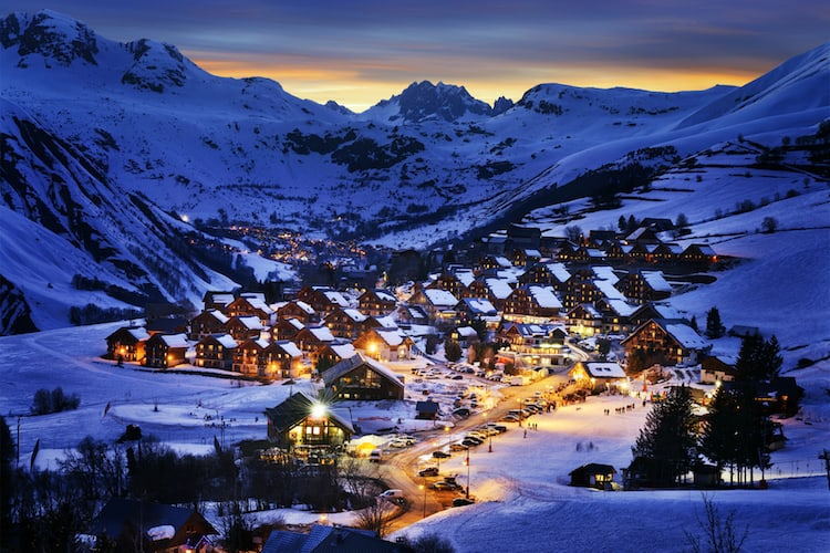 Guaranteed white Christmas in the French Alps