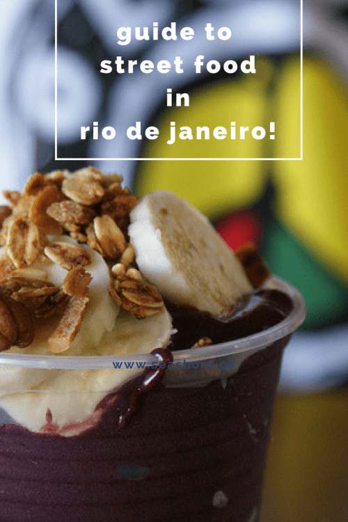 Eat like the locals when you visit Rio! This guide will help you choose some of the best and most popular street foods!