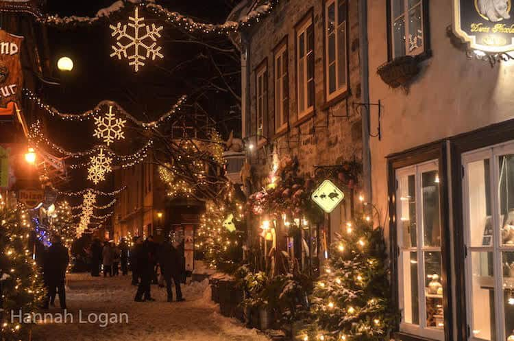 Quebec City for a Guaranteed White Christmas