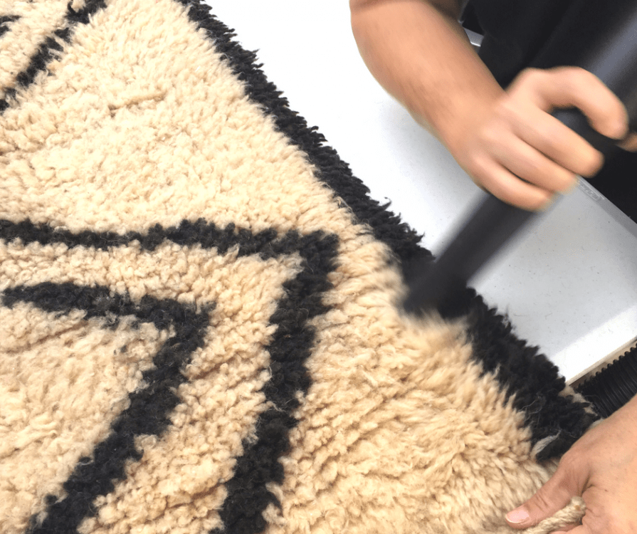 How To Clean Moroccan Rugs At Home Marocmama