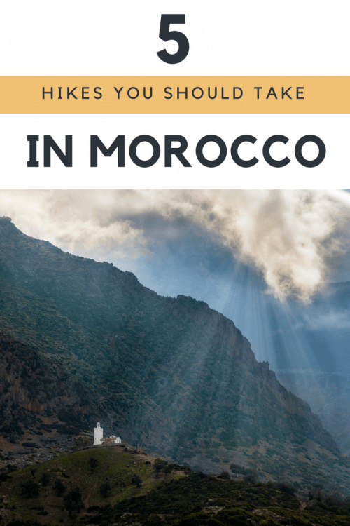 Hiking in Morocco is an experience not to miss. Take a trip for a day or a week and you're certain to find a beautiful landscape to admire on your trek.