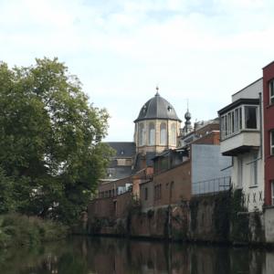 Dyle River Mechelen Belgium