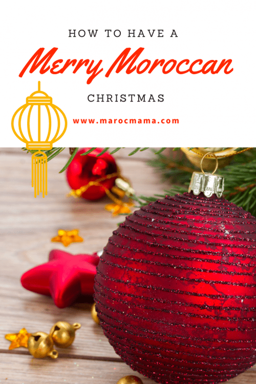 Moroccan inspired Christmas decorations to give your celebrations a little twist this year! Unique Christmas ornaments, mantel decorations, and Moroccan Christmas cookies for the holiday season.