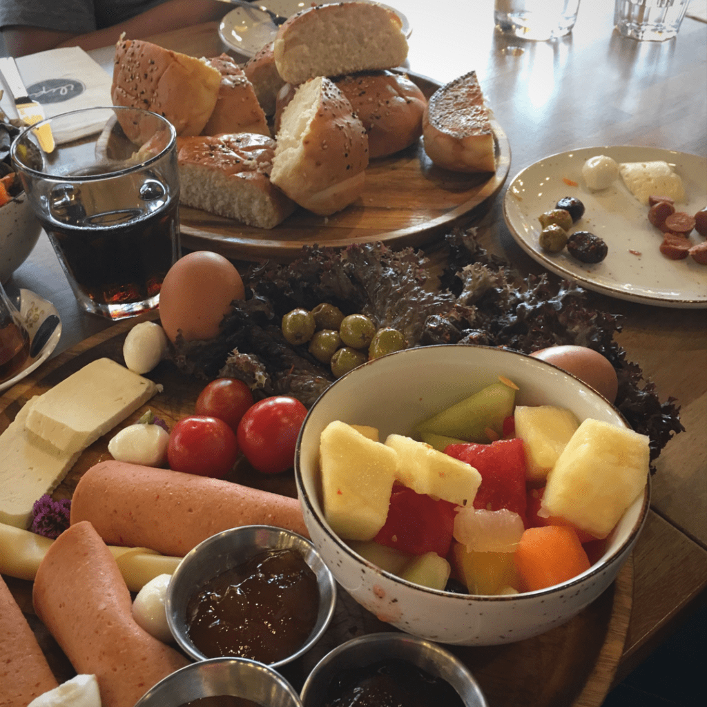 Turkish breakfast at Ilya Rotterdam
