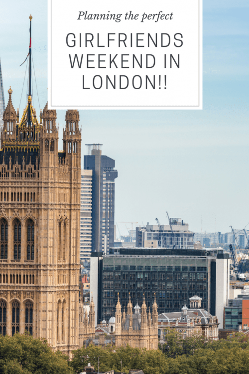 London is a great destination for a girlfriends getaway! Find a wide variety of advice in this post for planning your own trip to this world class city!