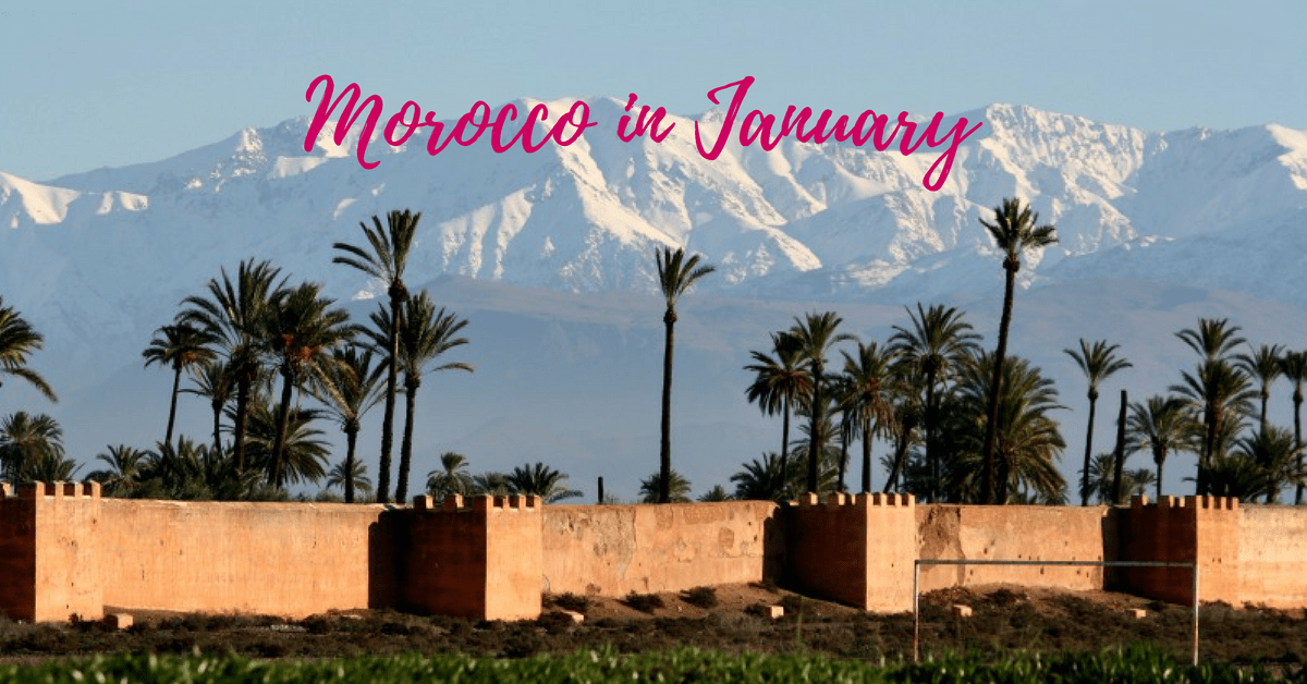 Visiting Morocco in January