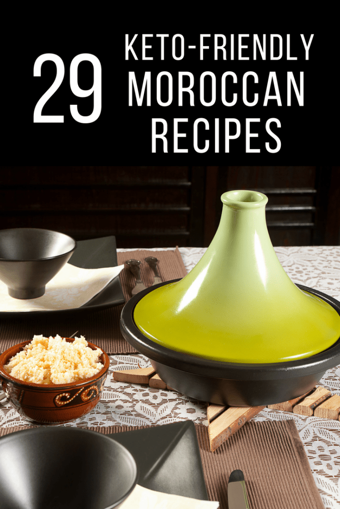 "If you're trying a keto (or ketogenic) diet and are looking for a few unique recipes to add to your meal plan, try one of these Moroccan recipes. Combine Mediterranean flavors with the keto requirements and it won't even feel like a ""diet!"""